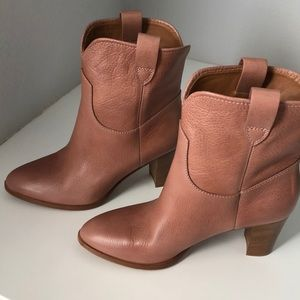 "Frye June Short boots in color ""dusty"" size 7 1/2"